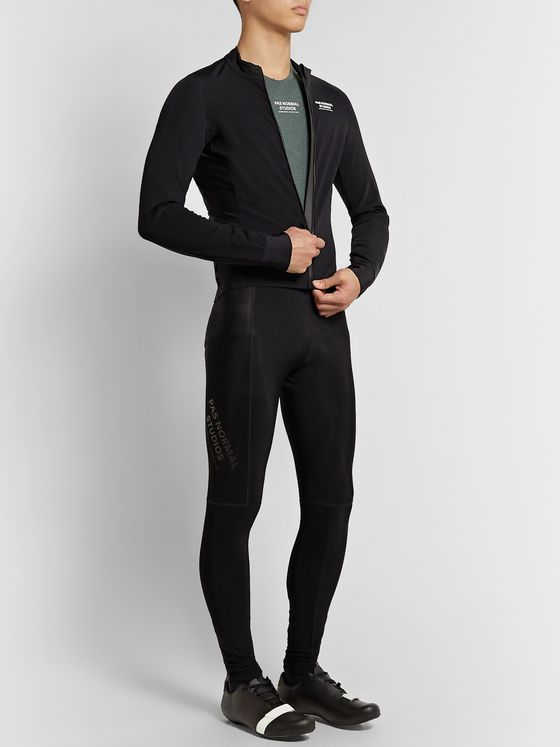 Pas Normal Studios Control Mélange Polartec Power Wool Cycling Base Layer