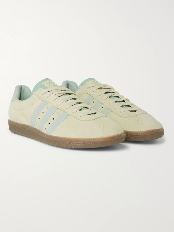 adidas Originals Padiham Leather-Trimmed Suede Sneakers