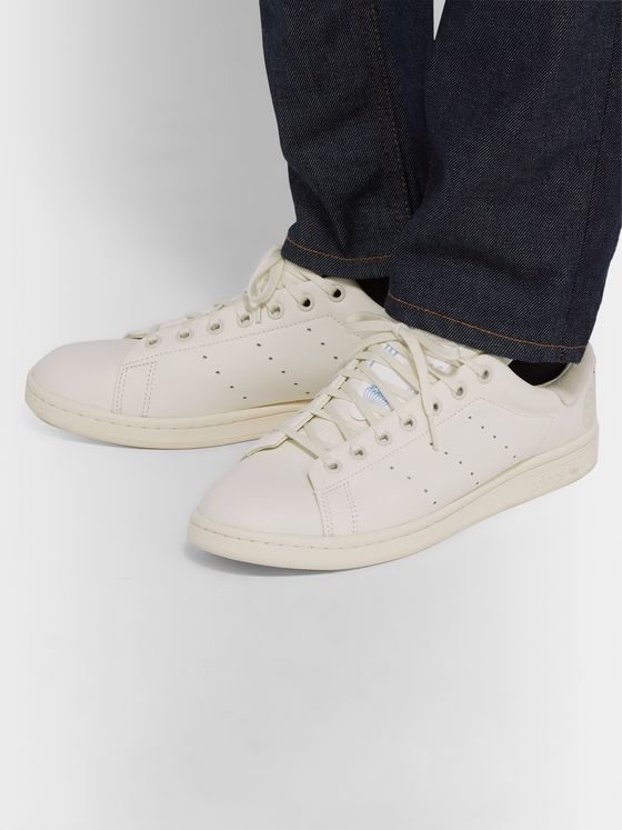Gray SC Premiere Leather Sneakers | adidas Originals | MR PORTER