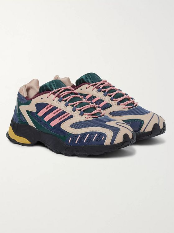adidas Originals Torsion TRDC Ballistic Nylon and Mesh Sneakers