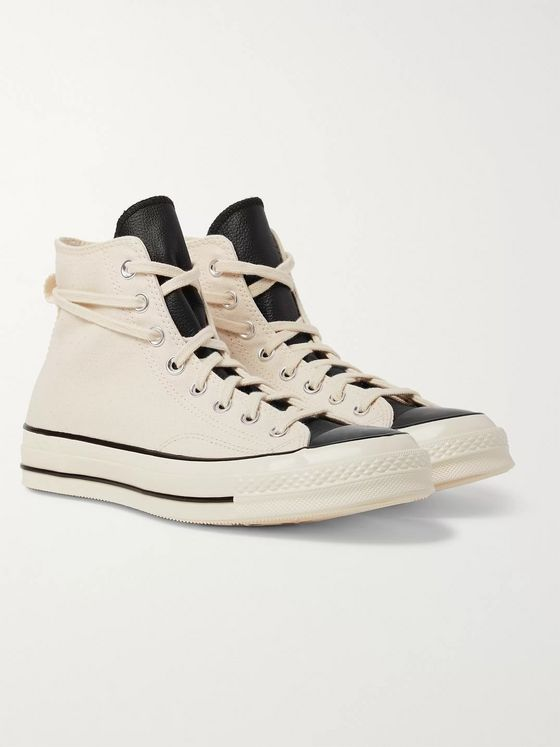 Converse + Fear of God 1970s Chuck Taylor All Star Canvas High-Top Sneakers