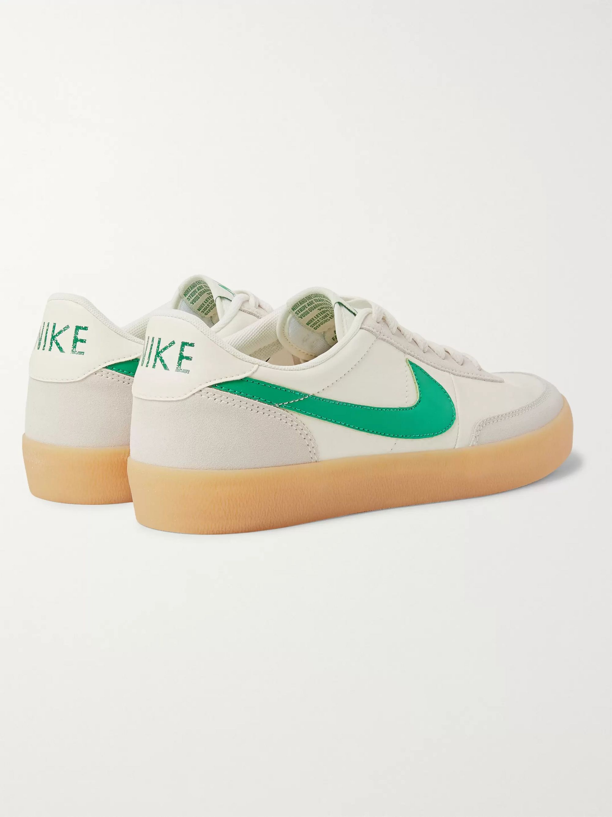 Nike Killshot 2 Suede-Trimmed Leather Sneakers