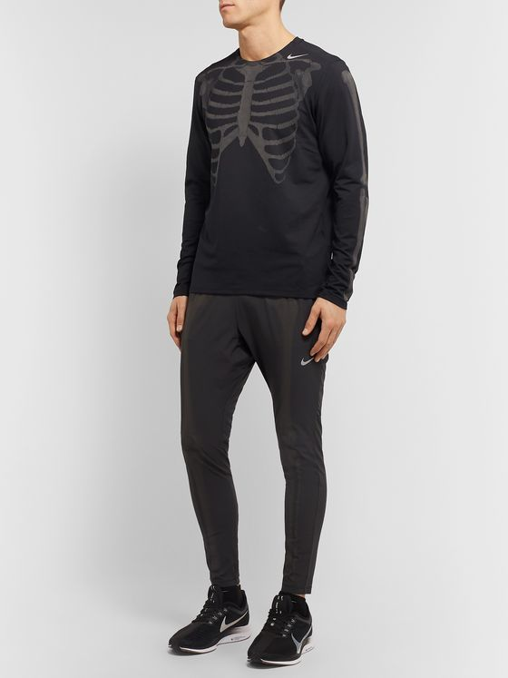 Nike Skeleton Glow-in-the-Dark Stretch-Jersey T-Shirt