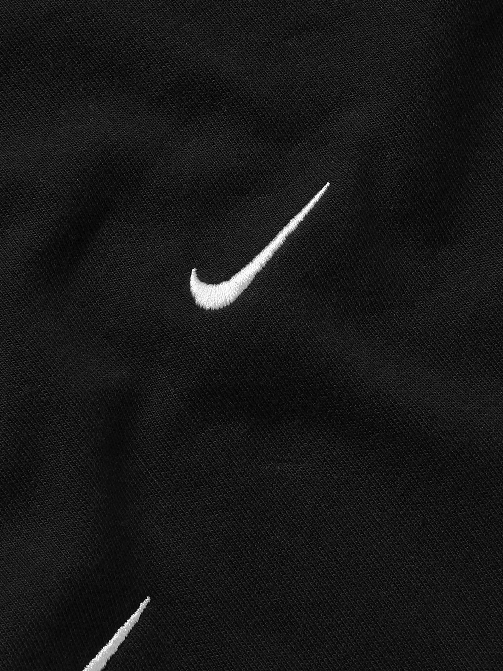 Nike NRG Logo-Embroidered Cotton-Jersey T-Shirt