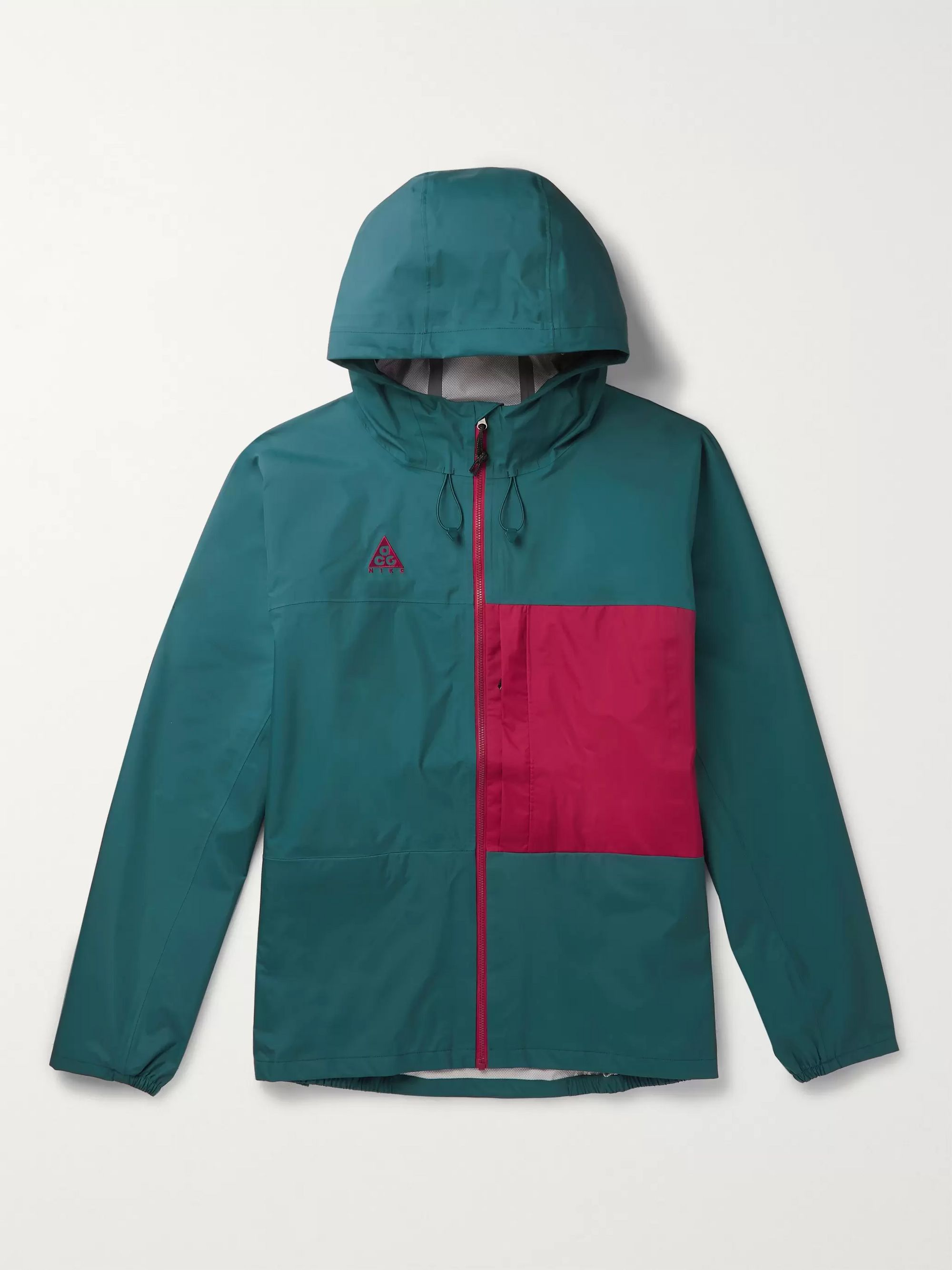 ACG Packable Colour Block Shell Hooded Jacket