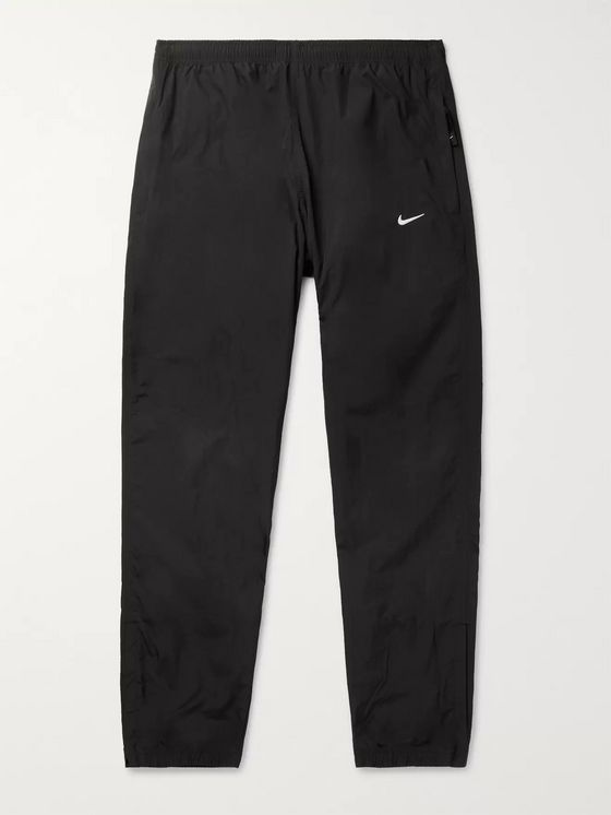 Nike NRG Tapered Logo-Embroidered Shell Trackpants