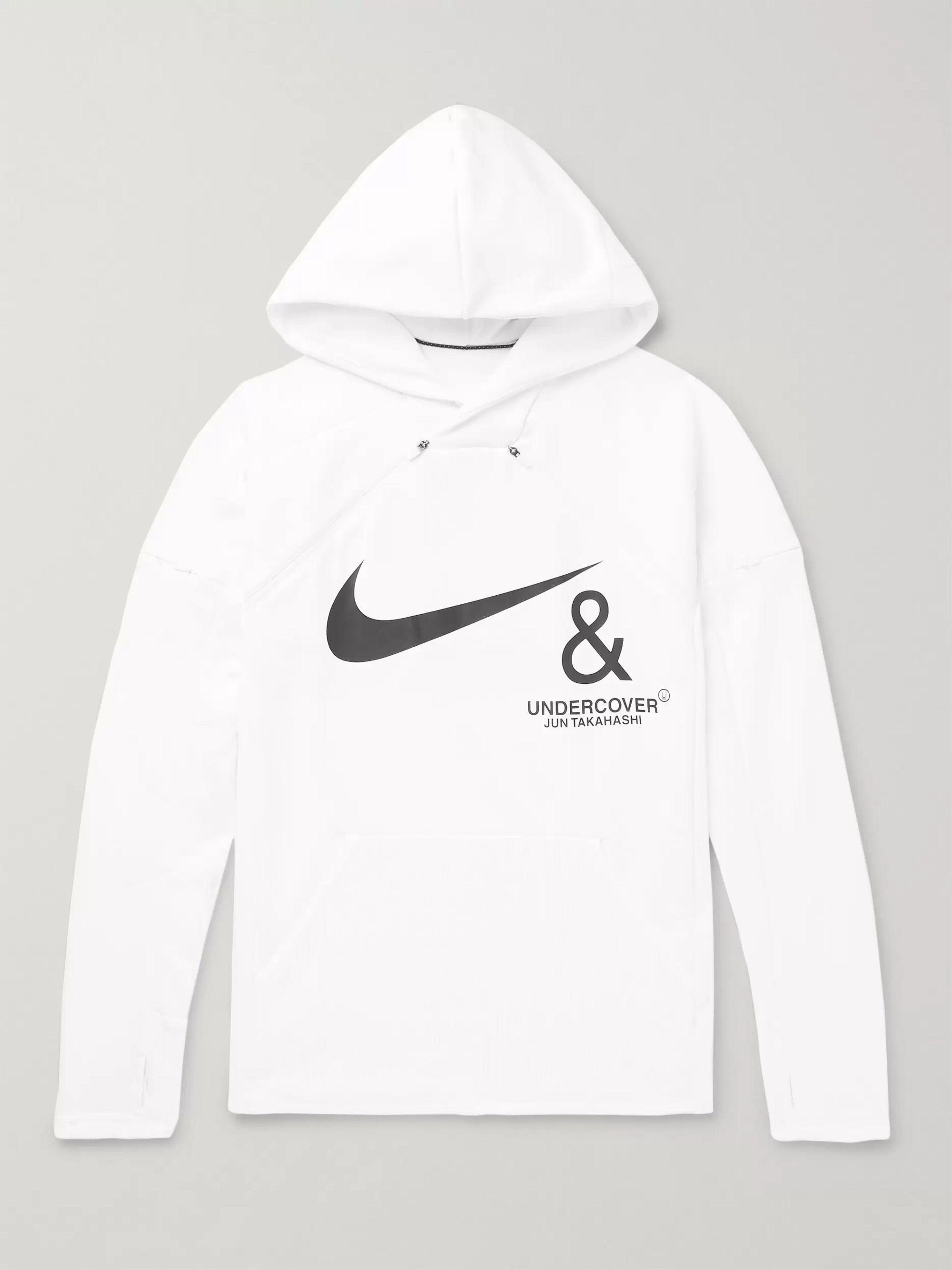 Nike Logo Print Hoodie |
