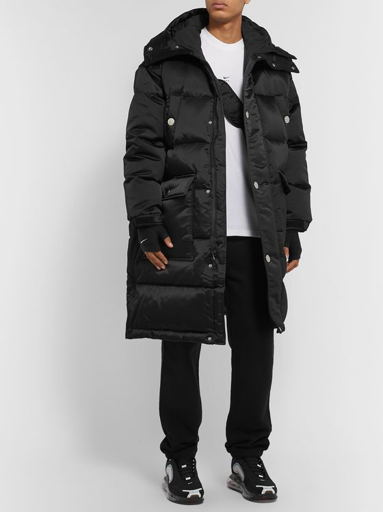 Nike + Matthew Williams NRG Quilted Nylon Hooded Down Coat