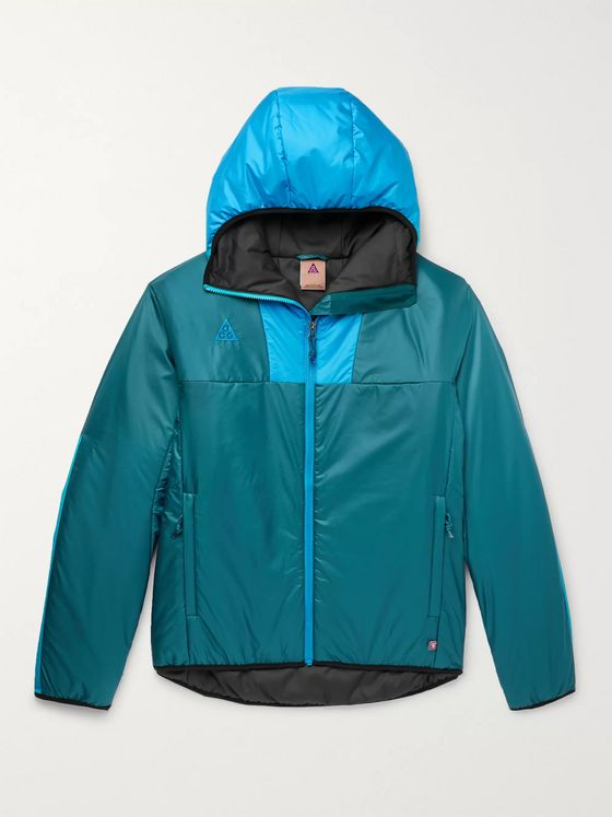 Nike ACG NRG Packable Padded PrimaLoft Ripstop Hooded Jacket