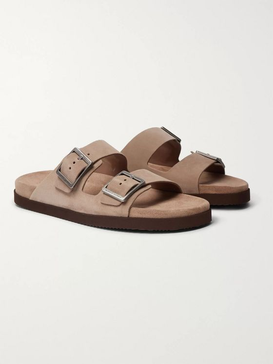 Brunello Cucinelli Suede Sandals