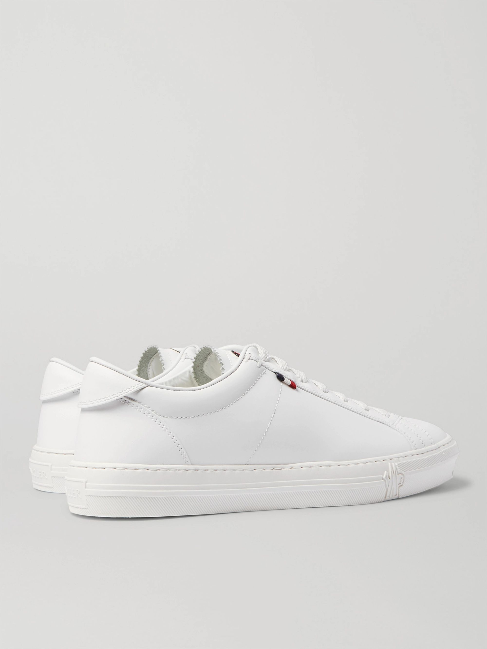 Moncler Monaco Leather Sneakers