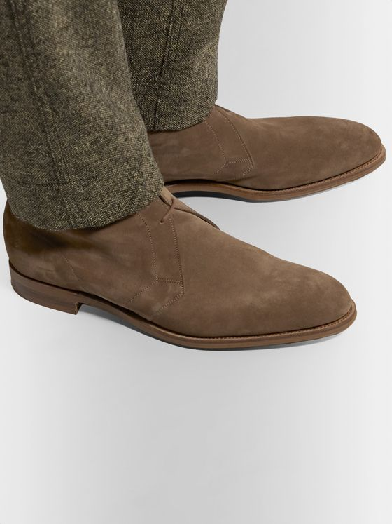 Edward Green Shanklin Suede Desert Boots