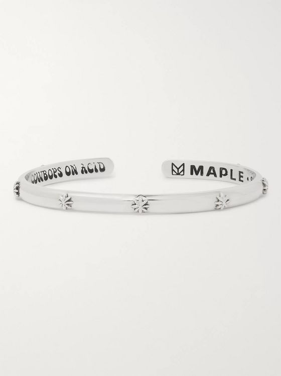 MAPLE Hempstar Sterling Silver Cuff