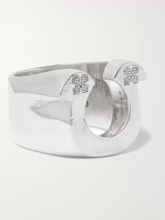 MAPLE Horseshoe Sterling Silver Ring