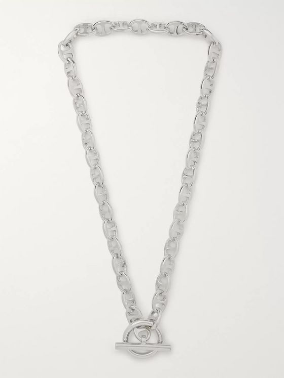 MAPLE Sterling Silver Chain Necklace