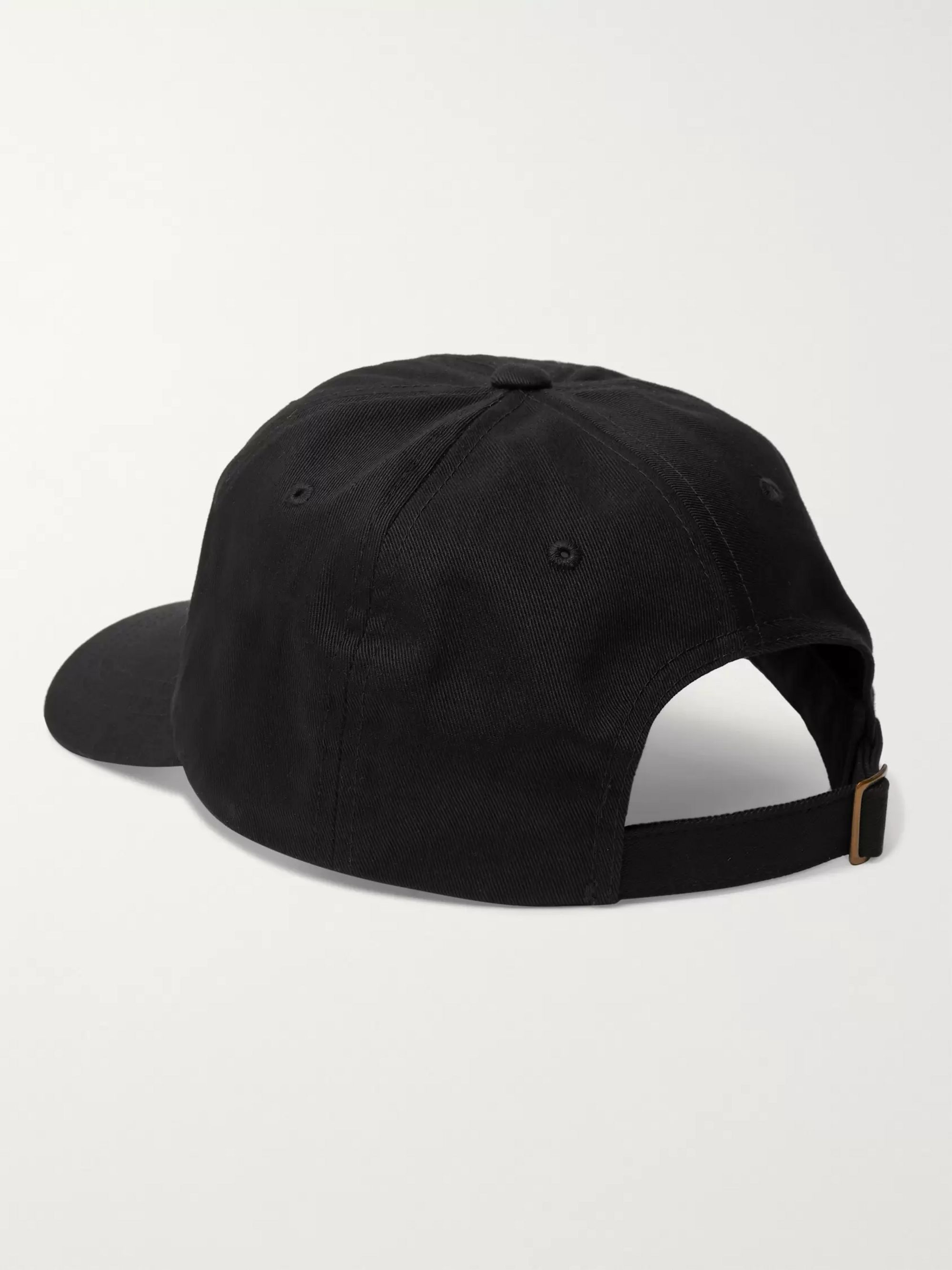 Stüssy Logo-Embroidered Cotton-Twill Baseball Cap
