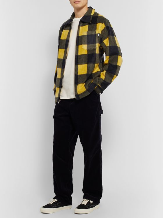 Stüssy Checked Fleece Overshirt
