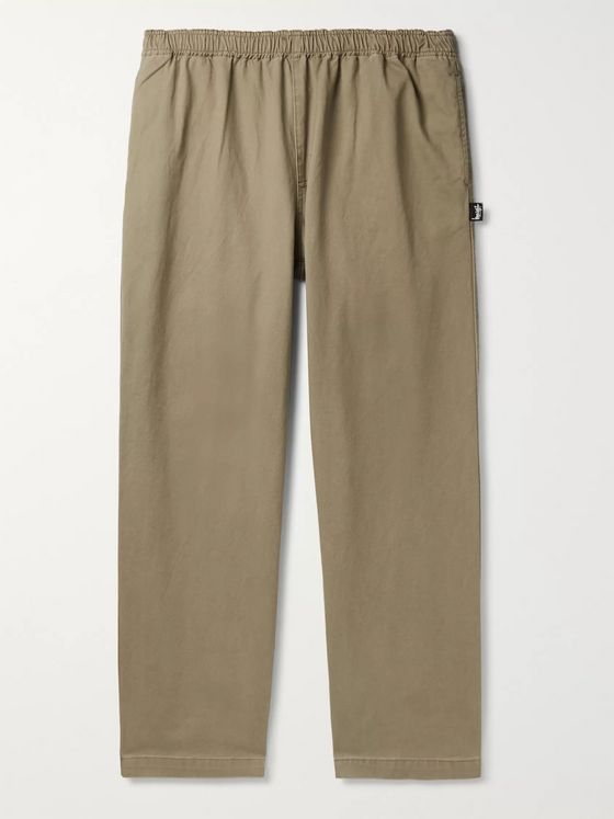 Stüssy Cotton-Twill Trousers