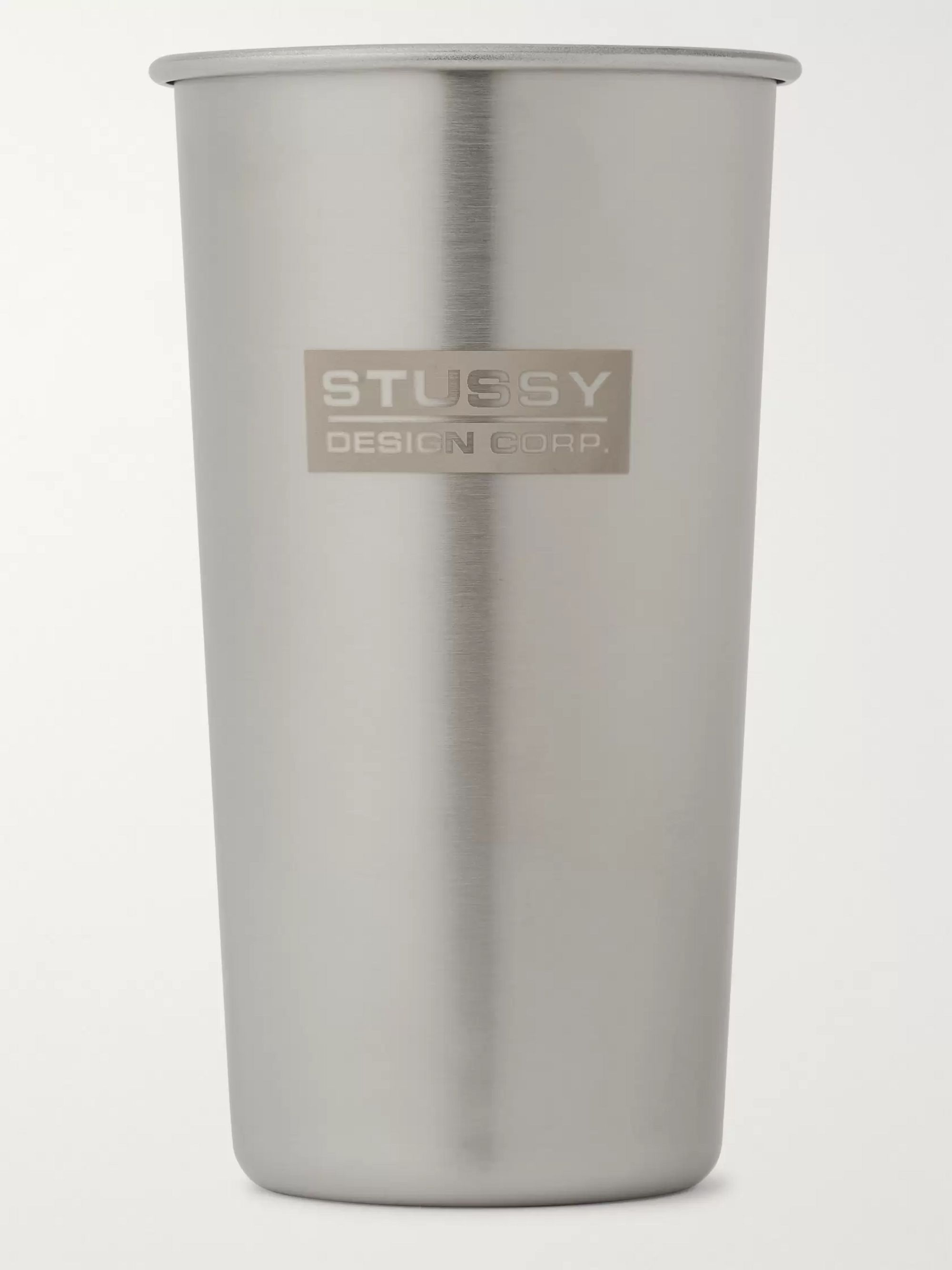 Stüssy + Klean Kanteen Logo-Engraved Stainless Steel Cup