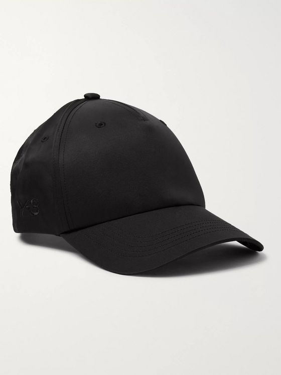 Y-3 Logo-Embroidered Nylon and Cotton-Blend Twill Baseball Cap