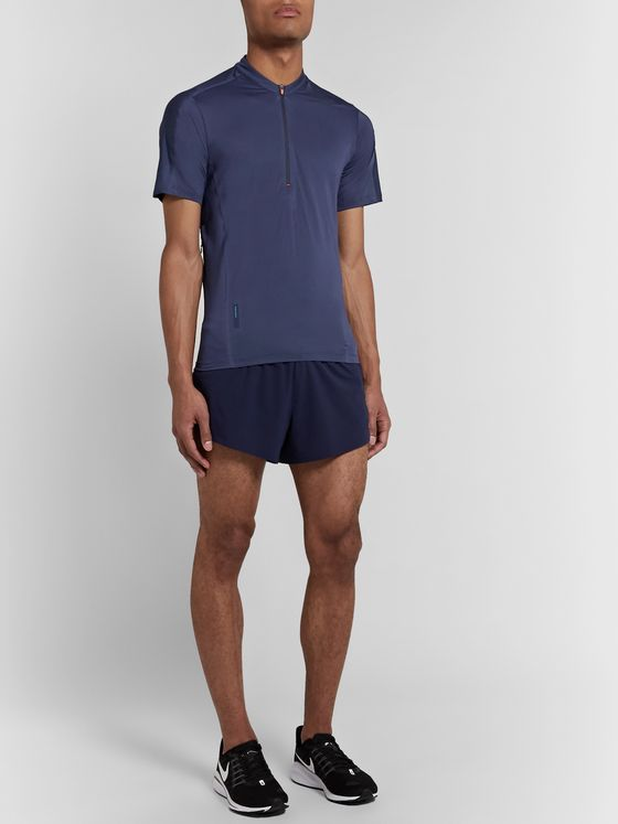 Soar Running Sierra Mesh Half-Zip Top
