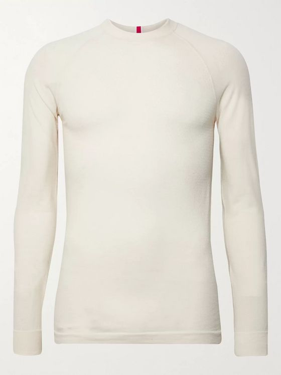 Tracksmith Brighton Slim-Fit Merino Wool-Blend Top