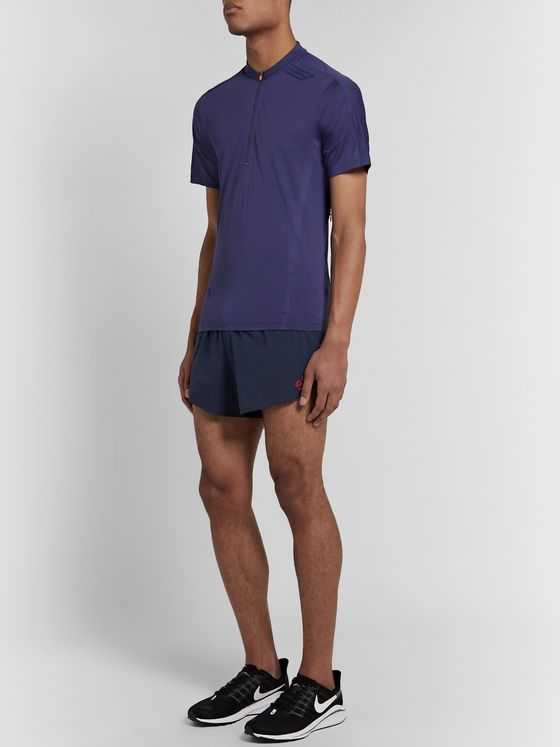 Soar Running Elite Race Shorts 3.0 Logo-Appliquéd Stretch-Shell Shorts