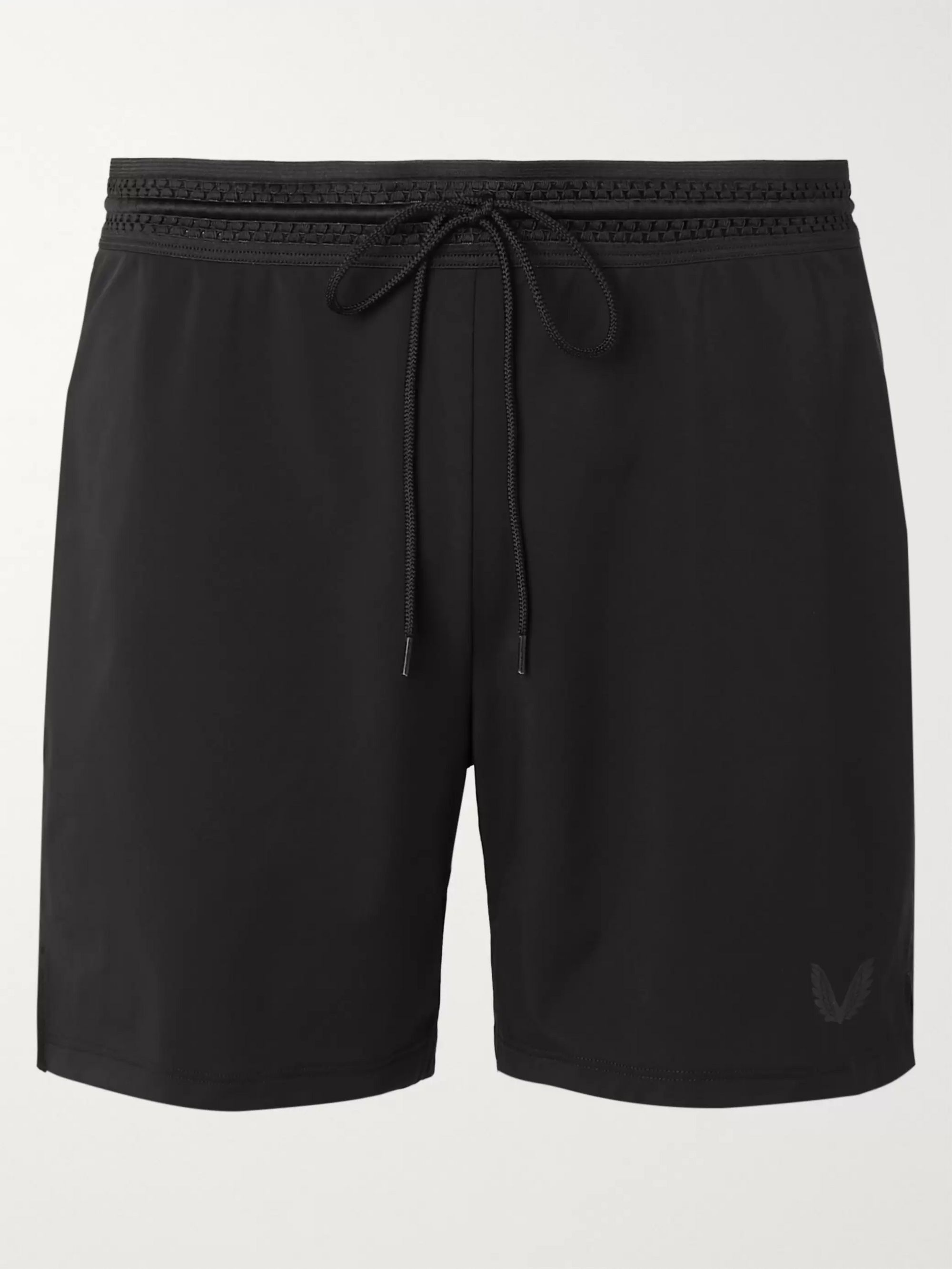 Black Bowden Stretch-Shell Running Shorts | CASTORE | MR PORTER