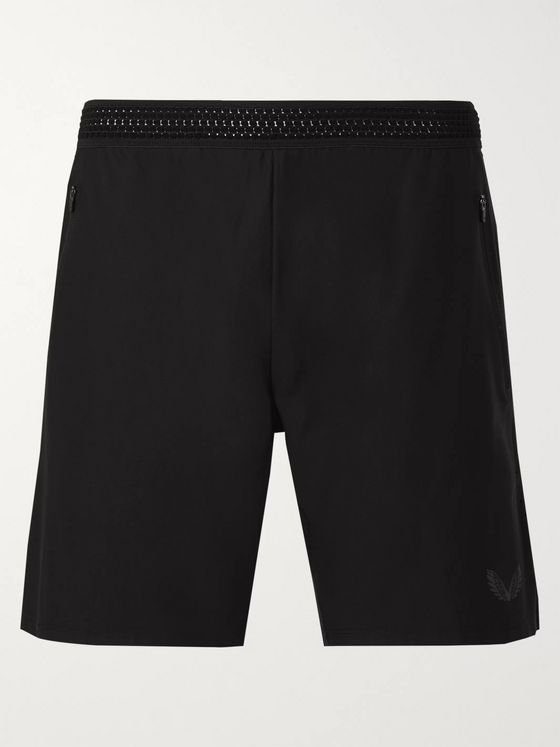 CASTORE Pro Performance Slim-Fit Mesh-Panelled Stretch-Jersey Shorts