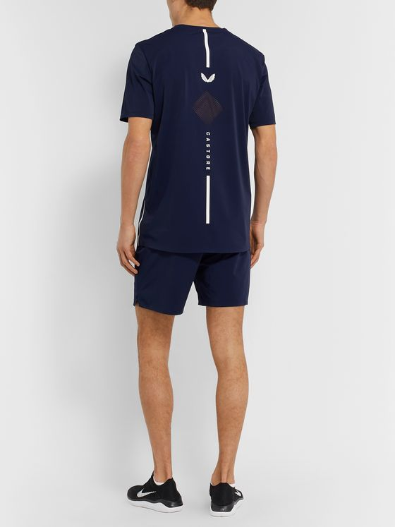 CASTORE Sampson Stretch Tech-Jersey and Mesh T-Shirt