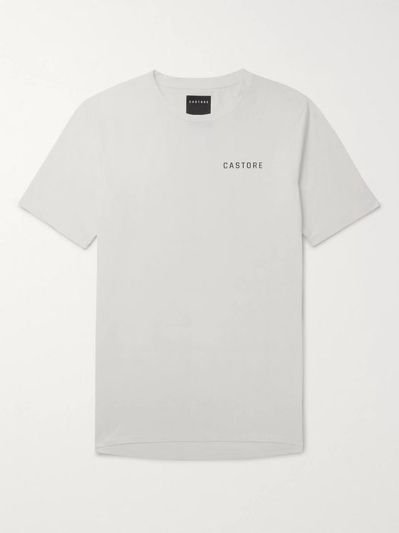 CASTORE Colombo Logo-Print Stretch Supima Cotton-Jersey T-Shirt