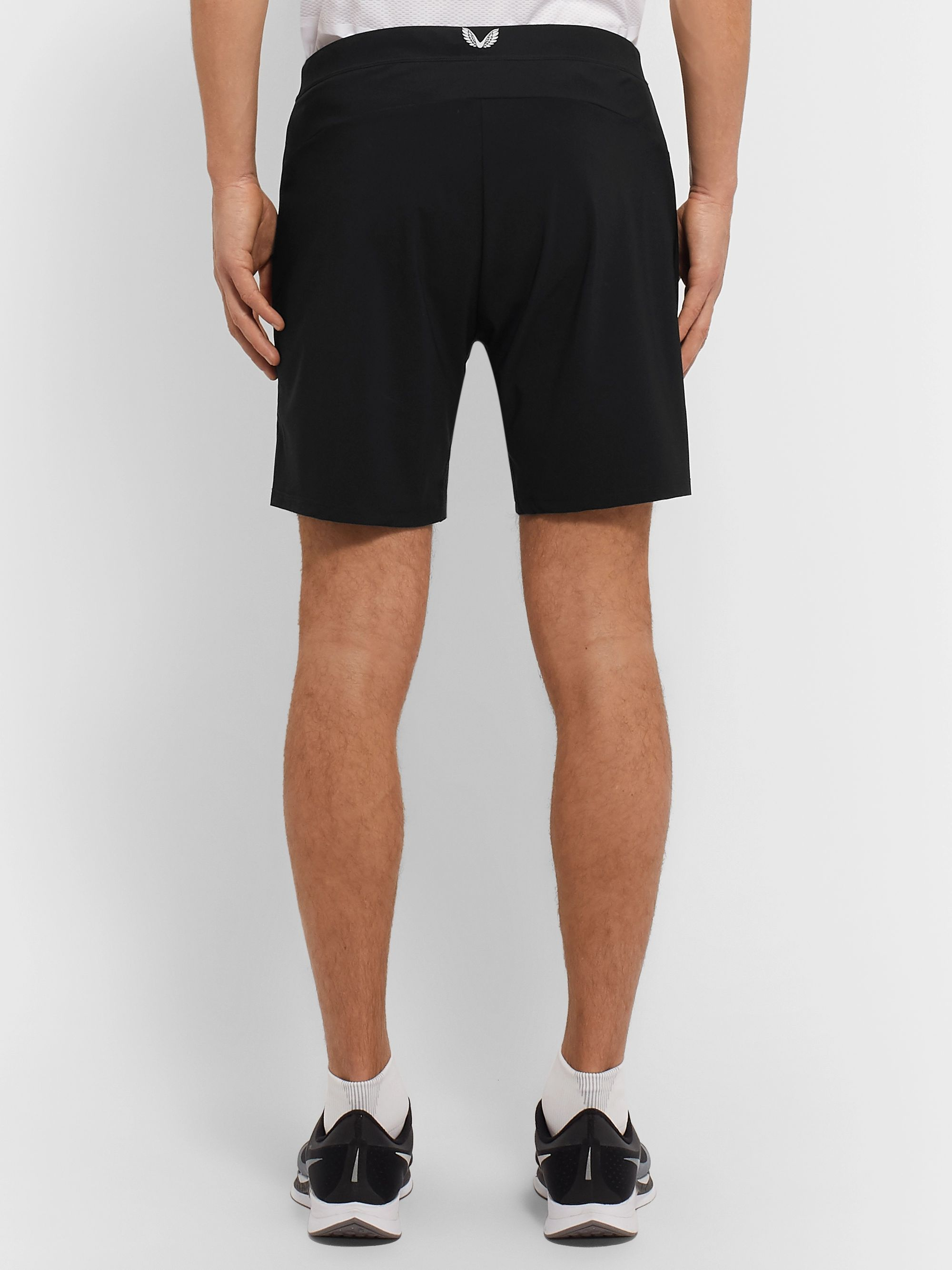 CASTORE Marco Slim-Fit Stretch-Shell Shorts