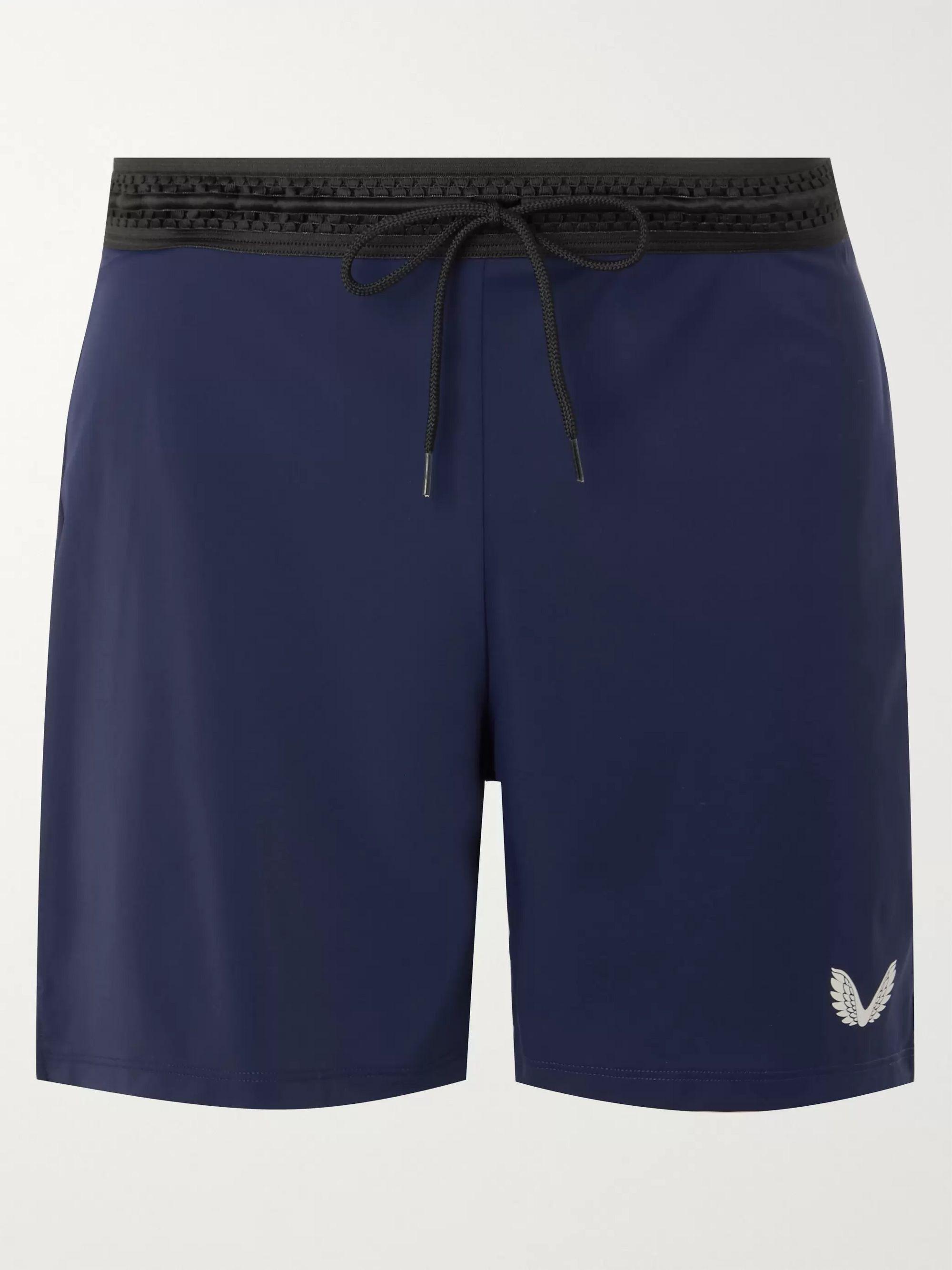 Navy Bowden Stretch-Shell Running Shorts | CASTORE | MR PORTER