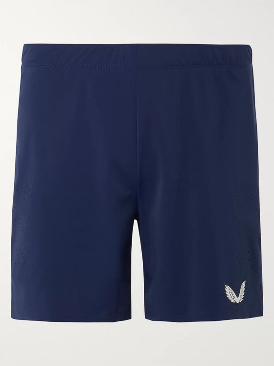 CASTORE Kappa Stretch-Mesh Running Shorts