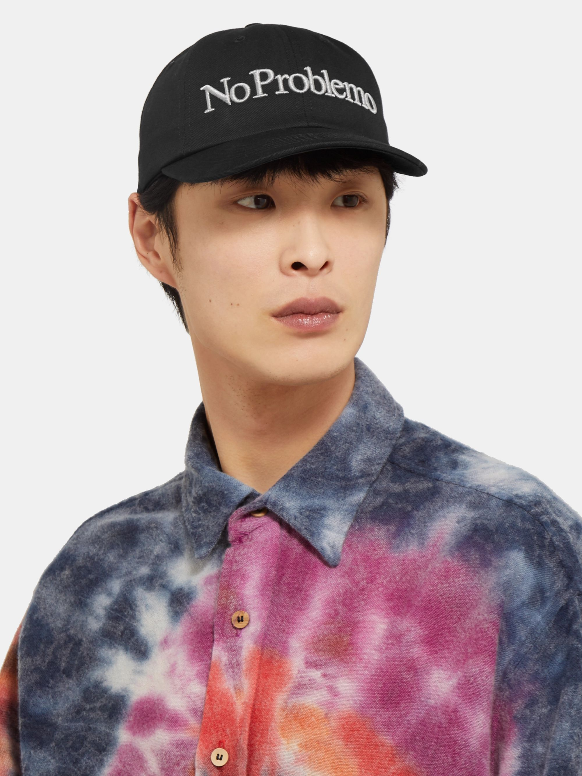 Aries Embroidered Cotton-Twill Baseball Cap