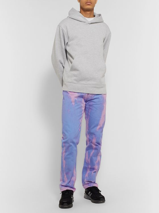 Aries Lilly Tie-Dyed Denim Jeans