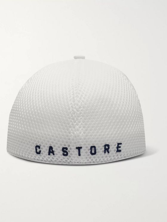 CASTORE Ghost Logo-Embroidered Woven Baseball Cap