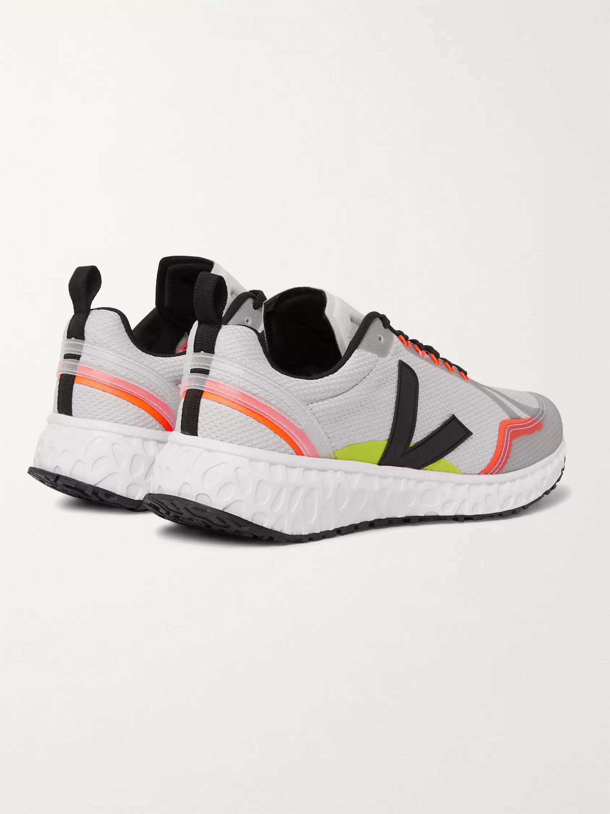 Veja Condor Rubber-Trimmed Mesh Running Sneakers