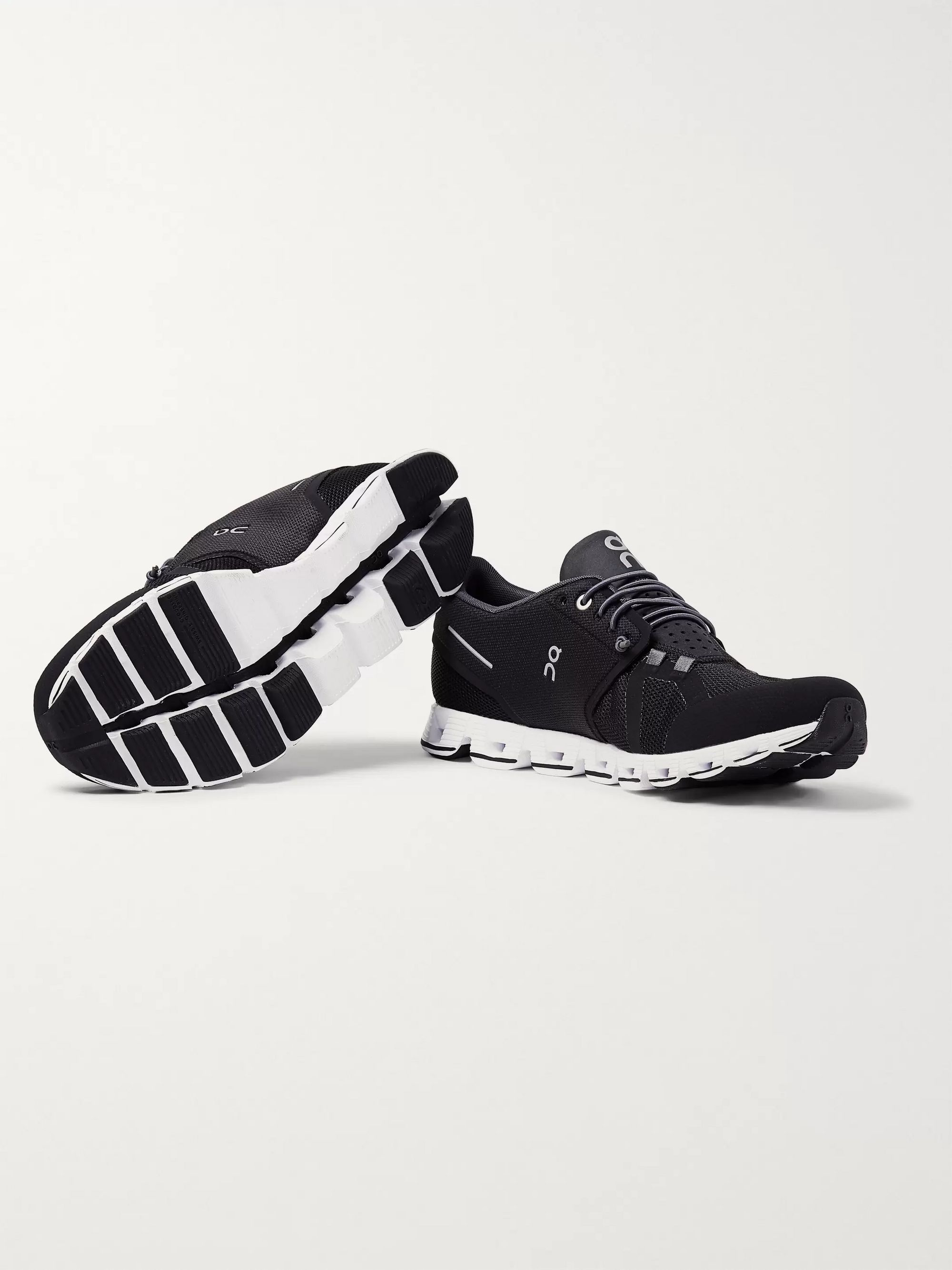 On Cloud Rubber-Trimmed Mesh Running Sneakers
