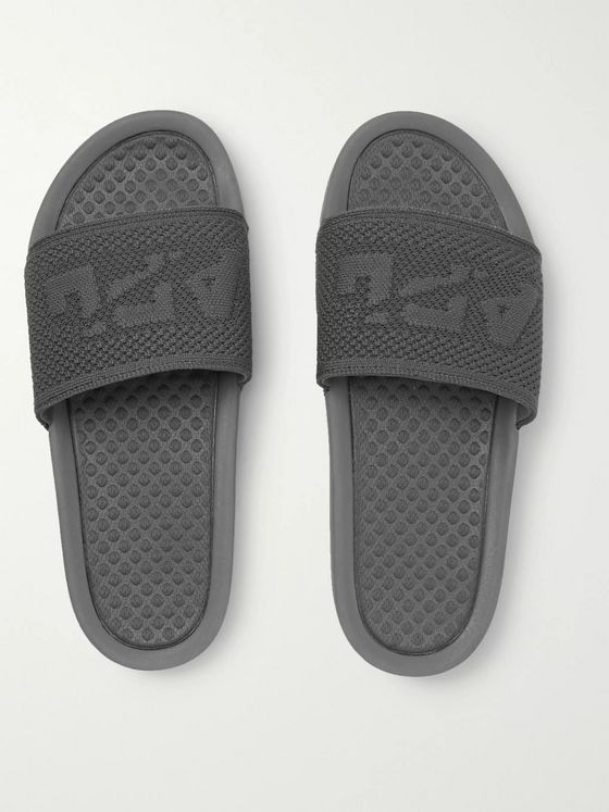 APL Athletic Propulsion Labs Logo-Embossed TechLoom Slides