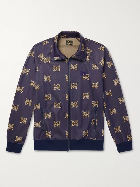 Needles Tech-Jersey Jacquard Track Jacket