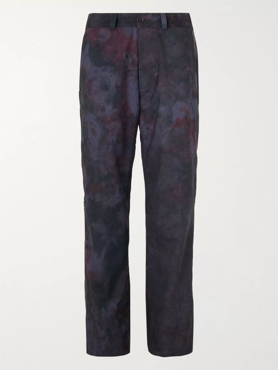 Needles Printed Wool Suit Trousers