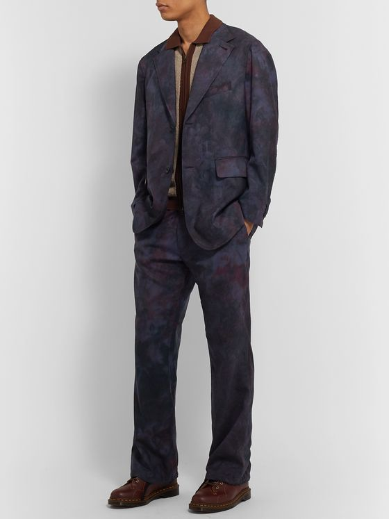 Needles Printed Wool Suit Jacket