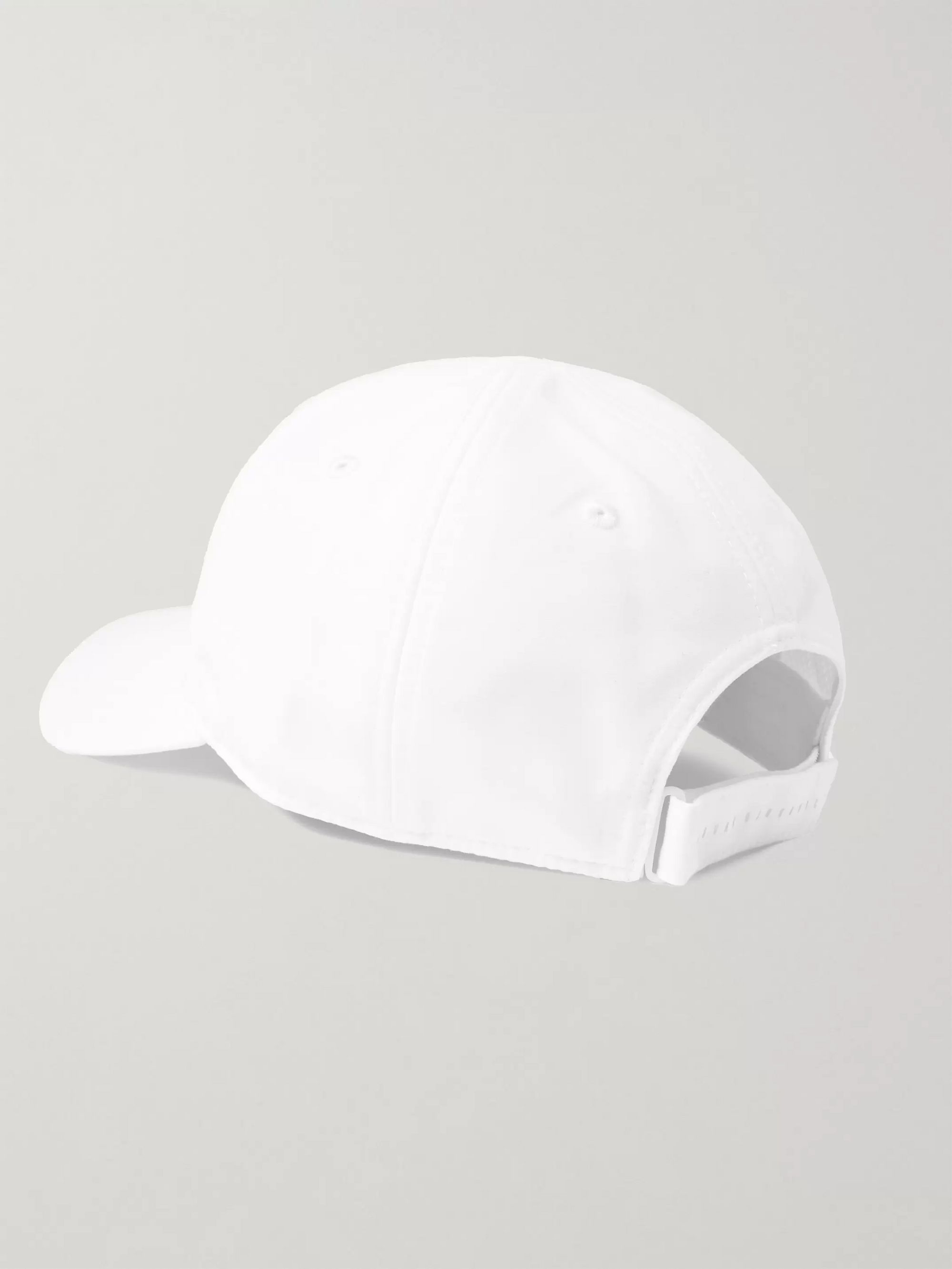 Lacoste Tennis + Novak Djokovic Logo-Appliquéd Canvas Tennis Cap