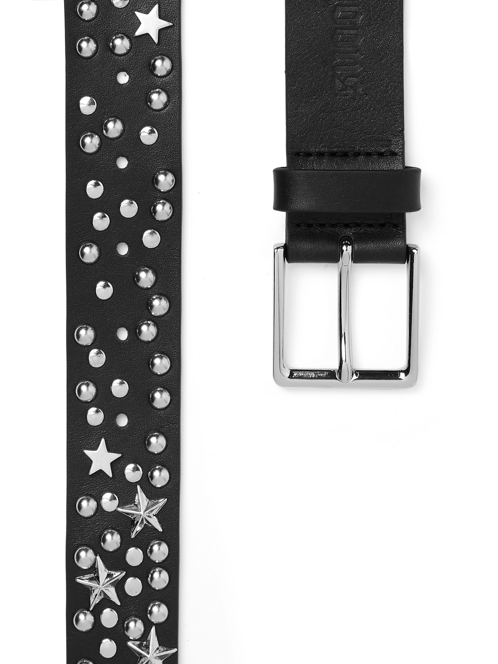 Noon Goons 3cm Black Studded Leather Belt