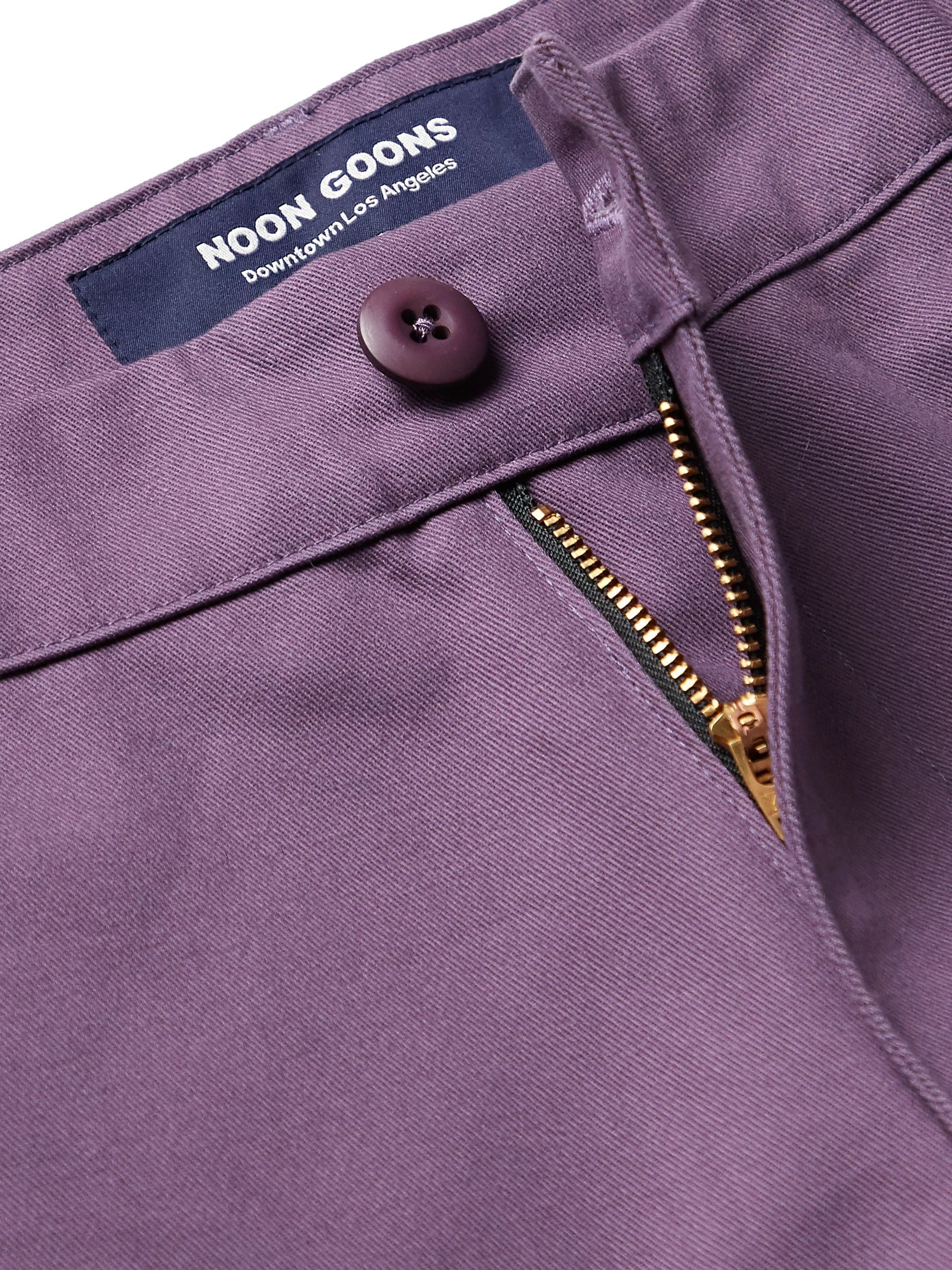 Noon Goons Slim-Fit Cotton-Twill Trousers