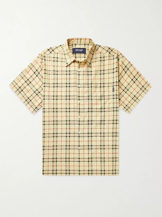 Noon Goons Liam Checked Cotton-Poplin Shirt
