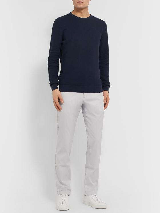 Theory Zaine Slim-Fit Twill Trousers