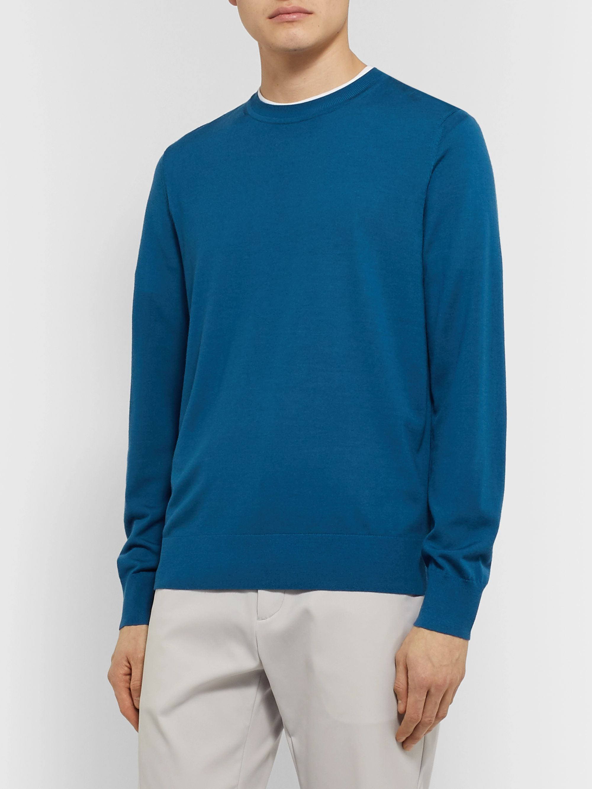 Theory Slim-Fit Wool Sweater