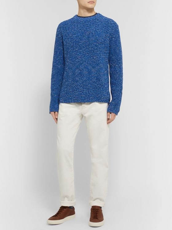 Theory Donegal Cotton Sweater